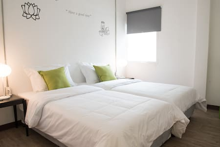 Very comfy room twin bed@ Bed&body - Bangkok - Diğer