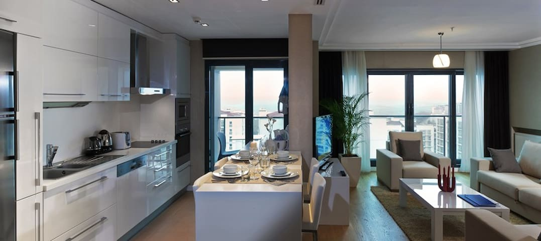 Hotel serviced, 2 bedroom apartment - Gaziosmanpaşa