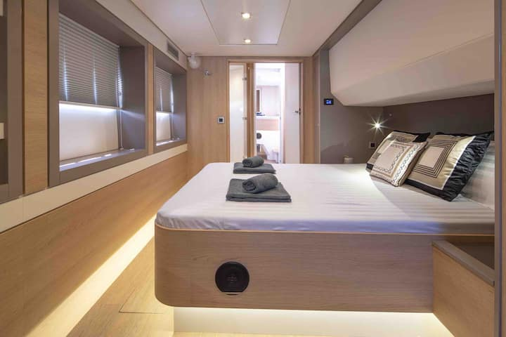 Live by the Sea on a Brand New Catamaran