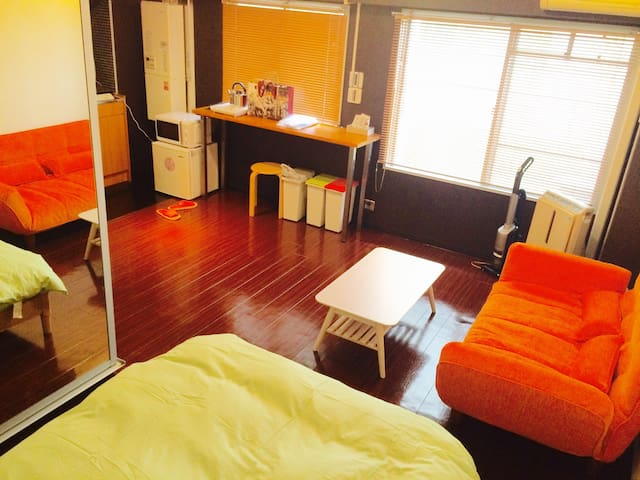 SHINJUKU 6min/ABOVE ST AP/Wifi/Private Room/Cozy - Nakano-ku - Apartment