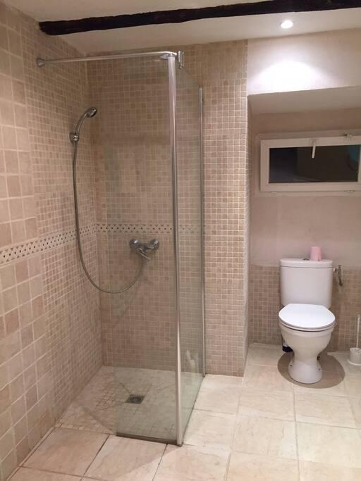 Salles d'eau commune