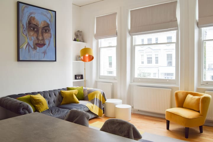 Bright & Beautiful 1 Bed Flat in Belsize Park.