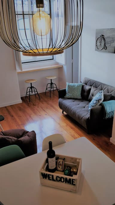 Living & Dining Room - Welcome