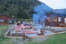 Enjoy the fire pit