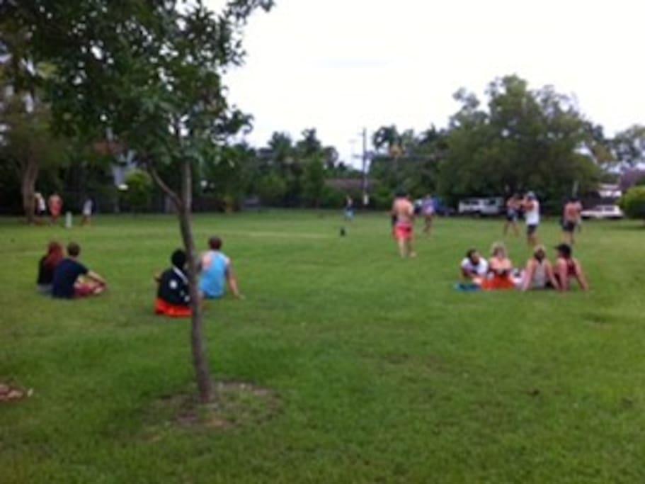 Adjacent Parks