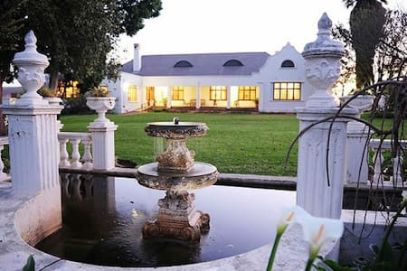 Luxury Accommodation on a Working Wine Farm - Robertson