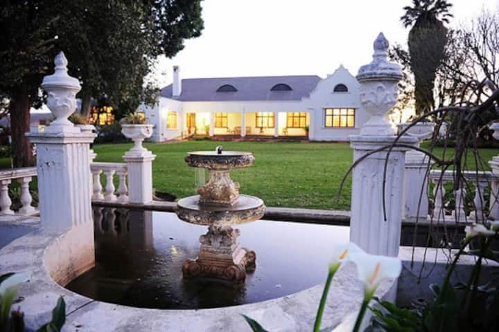 Luxury Accommodation on a Working Wine Farm