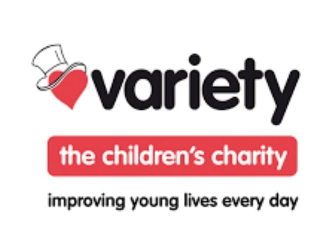 Every month a portion of all our bookings goes to the Variety Childrens Charity.