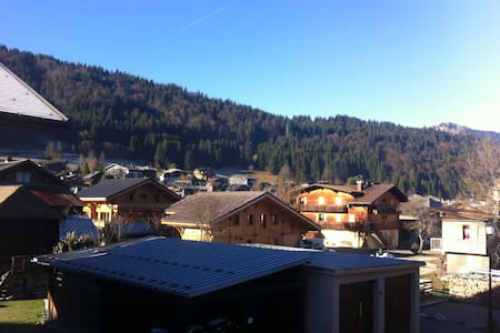 Morzine 2 bed Flat right by bubbles - Morzine - Appartement