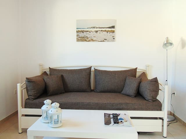 The sitting room (bed-sofa)