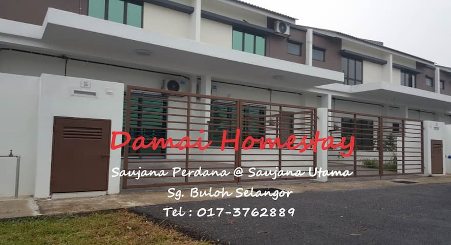DAMAI Homestay Saujana Perdana UiTM Puncak Alam