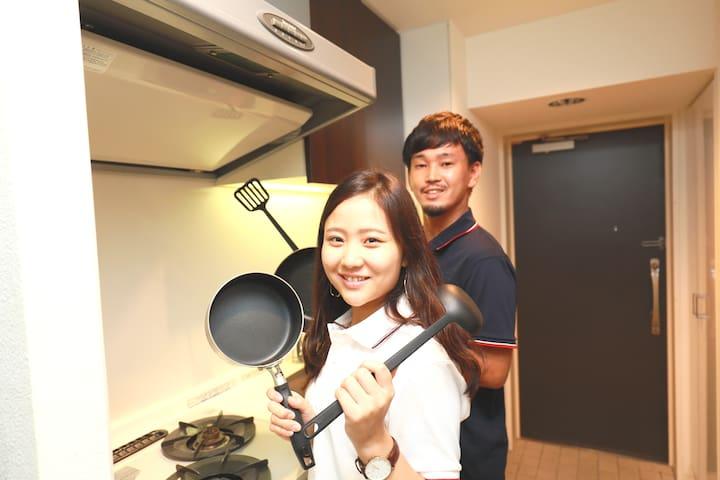 [IBASHO]5mins from Shibuya sta/Elevator/Wi-fi 803
