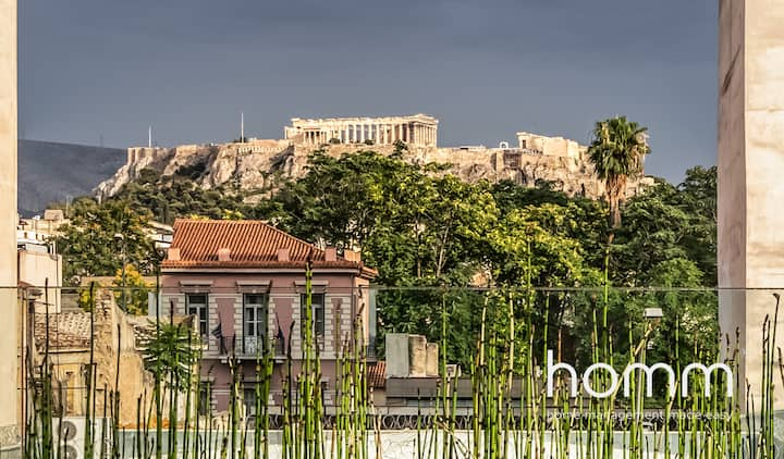 500m² homm Villa in Kerameikos with Acropolis view