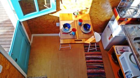 VILLA DO SER: Mini-Casa perto da praia para casal