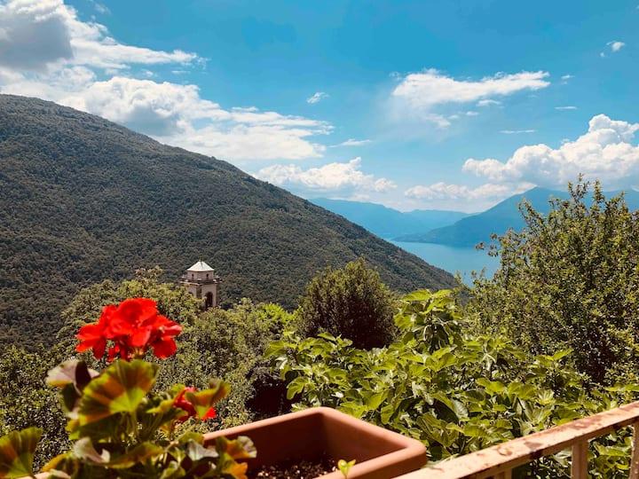 Entzückendes Haus zwischen See und Berg