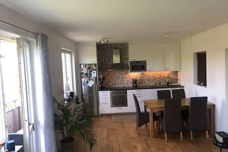 Modern apartment 11 min from Stockholm city center