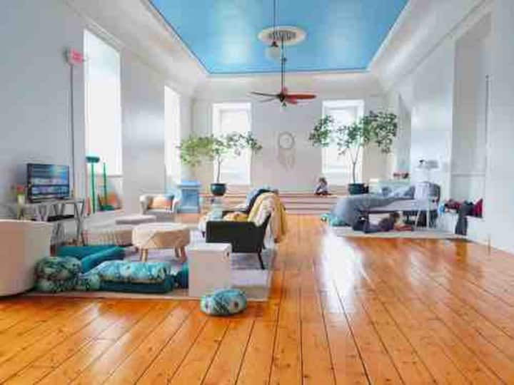 Cold Spring Village Unique Yoga Loft Space Stay