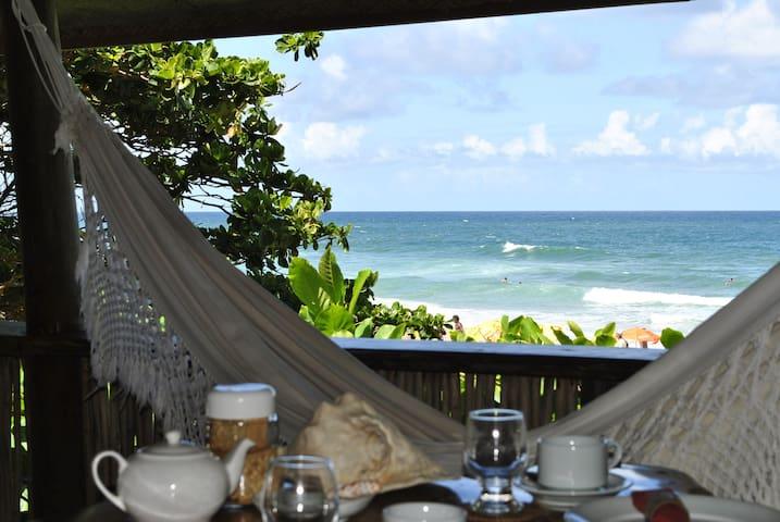 A sua casa na praia da Tirirca - Itacaré - Bed & Breakfast