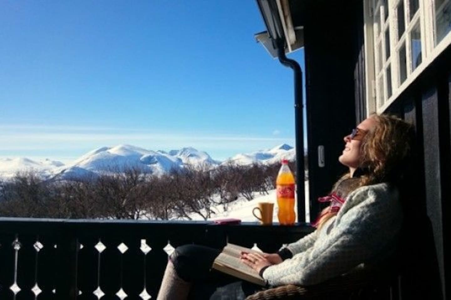 View of Rondane from cottage