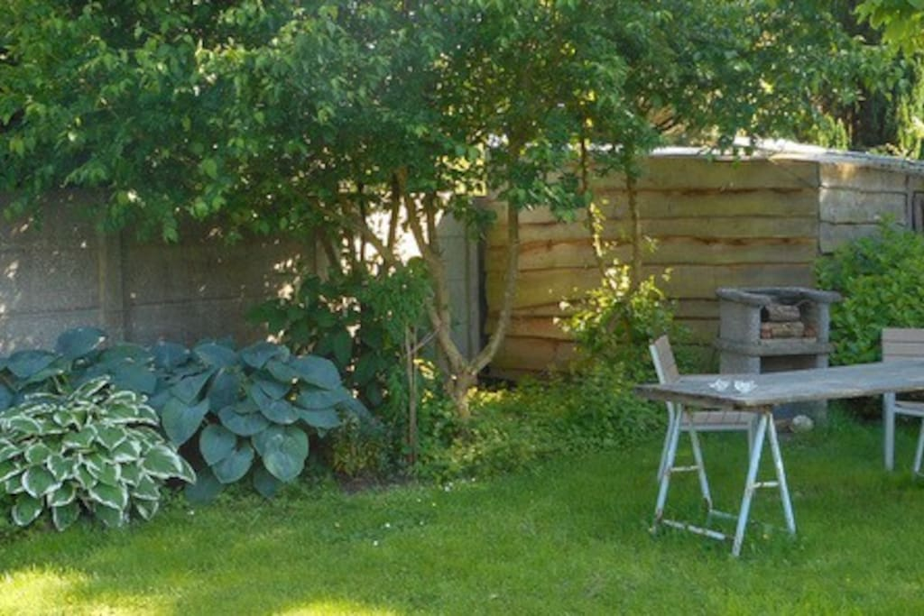 Tuinpavilioen en tuinkeuken