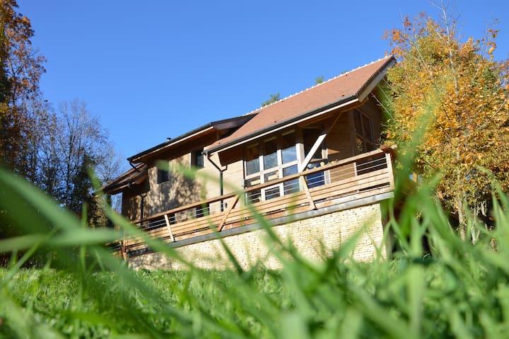 Maison bois de caractère au cœur de la Bourgogne