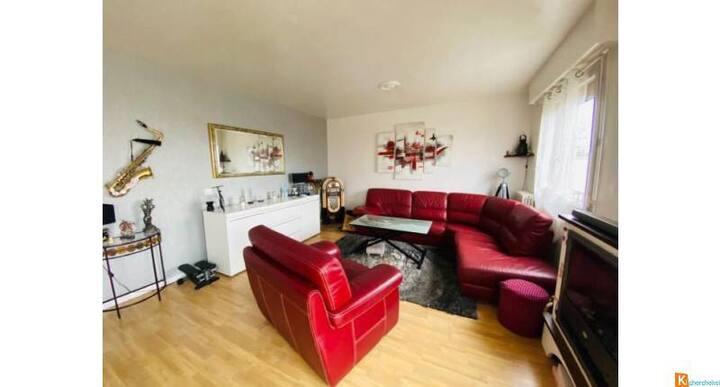 Appartement spacieux et lumineux tout confort
