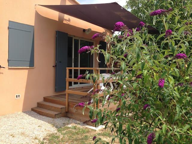 Joli gîte Provence Verte Piscine - Brue-Auriac - บ้าน