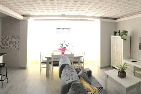 Apartamento luminoso y espacioso