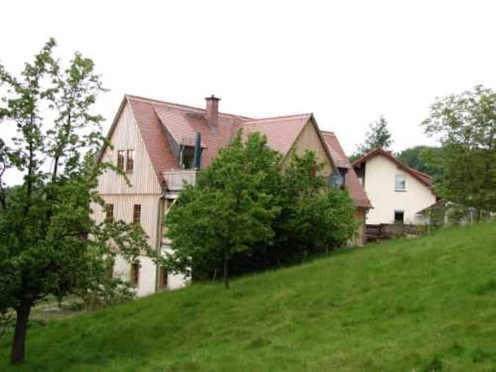 Ruhige, große Wohnung im Elbsandsteingebirge (DG)