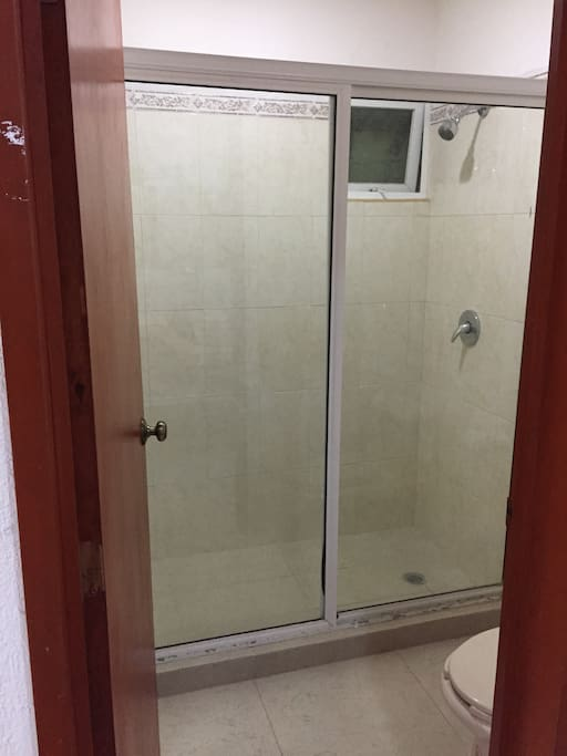 Shower in Bathroom (Shared with1 Bedroom)