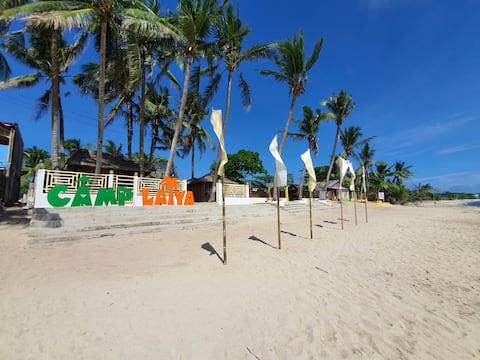 Camp Laiya Beach > Kasita 3pax w/Fan