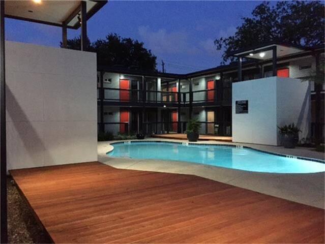 City Sanctuary Getaway in Montrose - Houston - Appartement