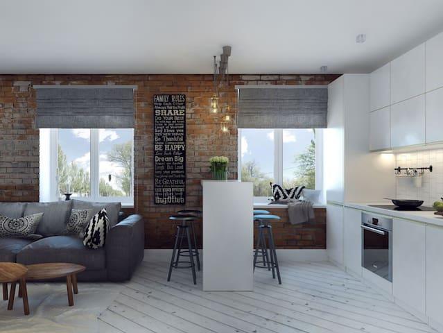 Loft-style квартира в центре - Moskva - Apartment