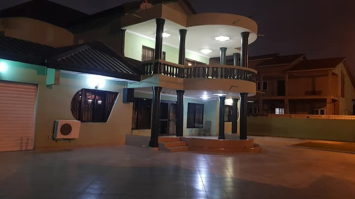 Ground Floor of Mansion in Prestigious East Legon