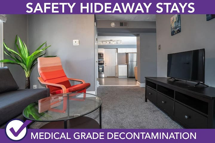 Safety Hideaway - Medical Grade Clean Home 18