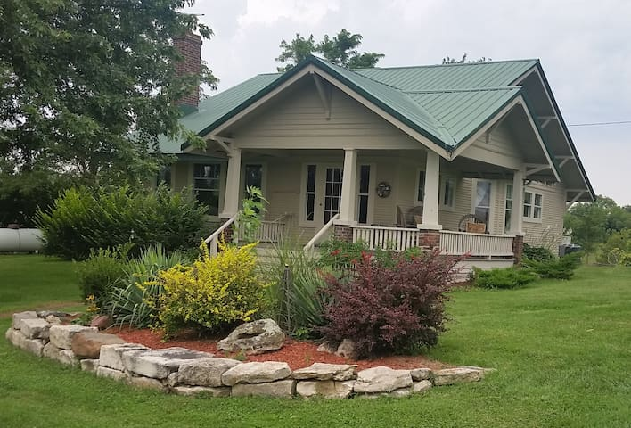 Terrapin Creek Ranch - Entire House Unmanned B&B - Rocheport - Dom