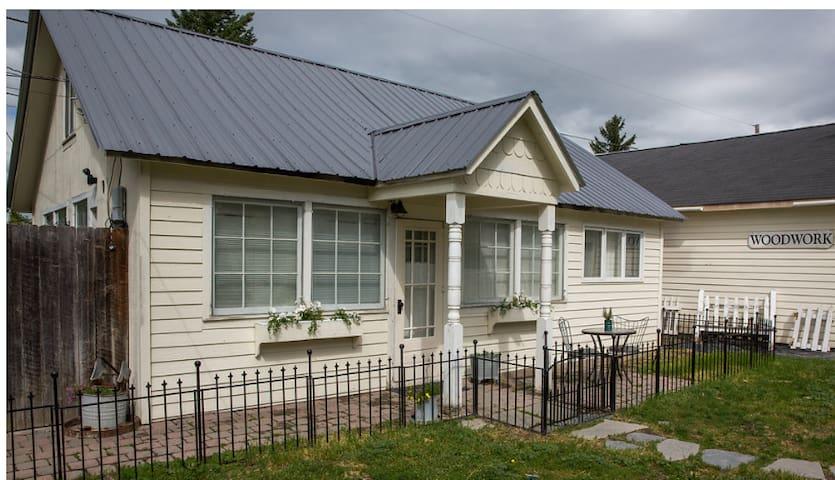 Kalispell Montana Historic Cottage
