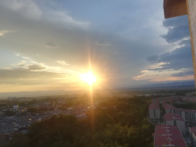 La vista más linda del Quindío!!