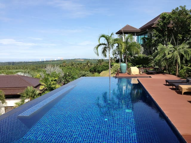 Ocean View from swimming pool.