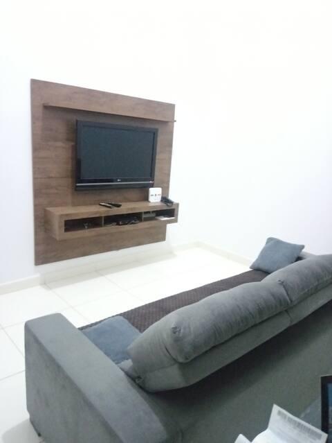 Casa 2Q, nova, completa Garavelo Goiânia