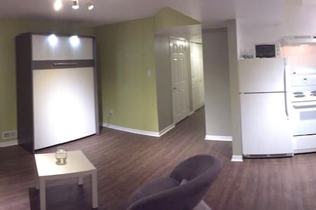 Furnished studio basement apartment