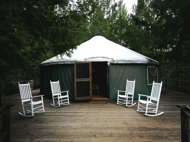 Farm Stay Inn - Yurt - Philo