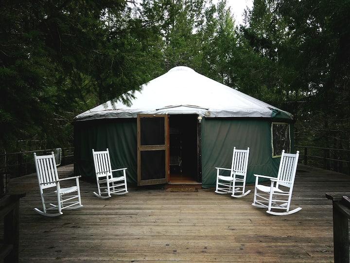 Farm Stay Inn - Poleeko Yurt