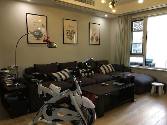 位于武汉光谷中心的阳光充沛的家庭友好型公寓 - Wuhan - Byt