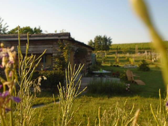 Cabana de charme dans un camping écologique