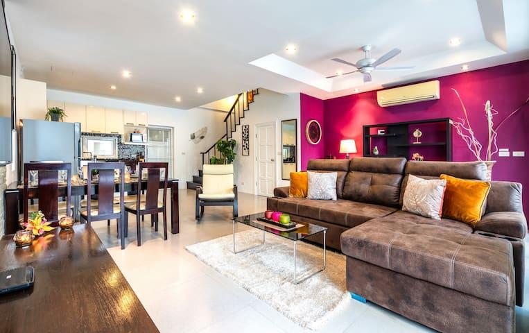 Perfect 2 Bedroom Townhouse @Kamala, 120 sq.m.