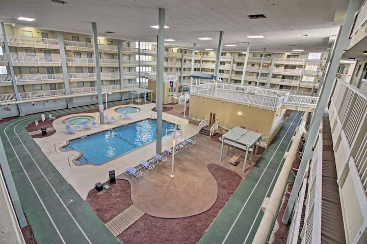 You'll have access to pools, hot tubs, tennis courts, fitness centers and more!