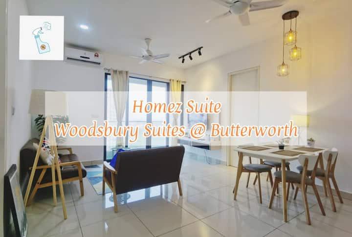 WS201A Woodsbury Suite (Nordic) by Homez Suite