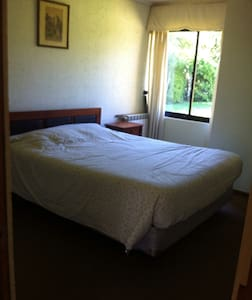 Habitación matrimonial con baño - Villarrica