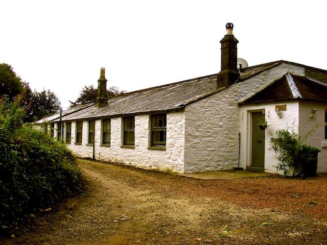 A rural cottage.
